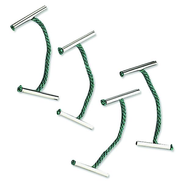 Q-Connect 102mm Metal Treasury Tag (100 Pack) KF04583