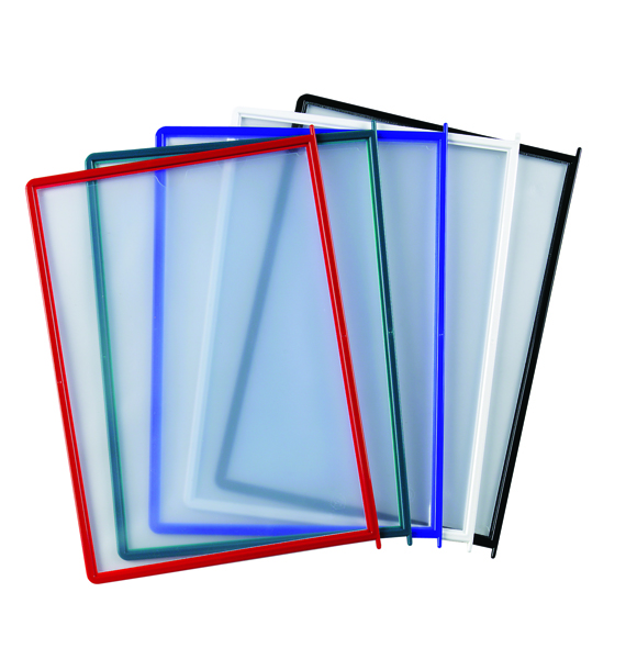 Image for Q-Connect Assorted Quick Finder Pockets (Pack of 10)