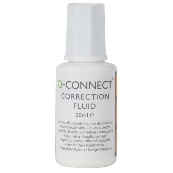 Q-Connect Correction Fluid 20ml