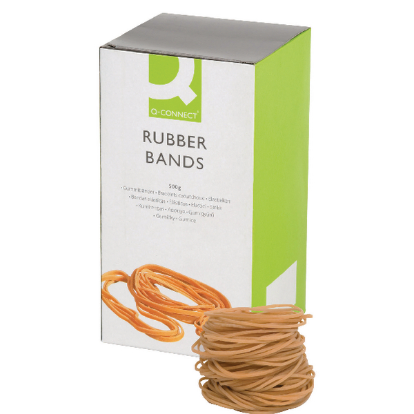 Q-Connect No.18 Rubber Bands (Pack of 500g)