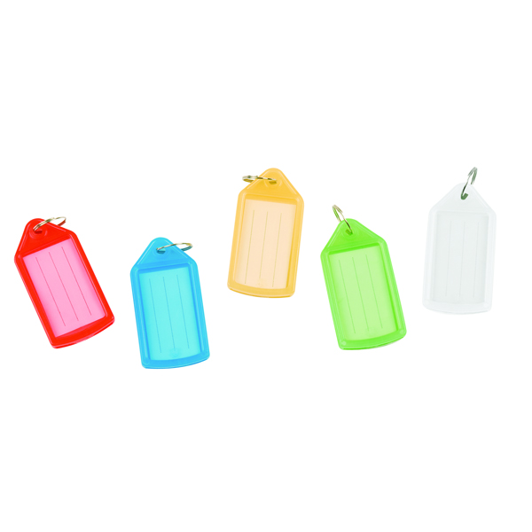 Q-Connect Sliding Key Fob Assorted (40 Pack) KF10878