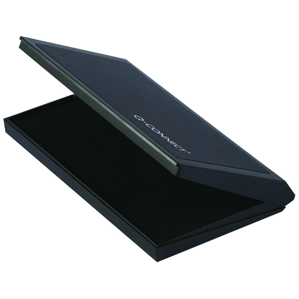 Q-Connect Large Black Stamp Pad KF15440