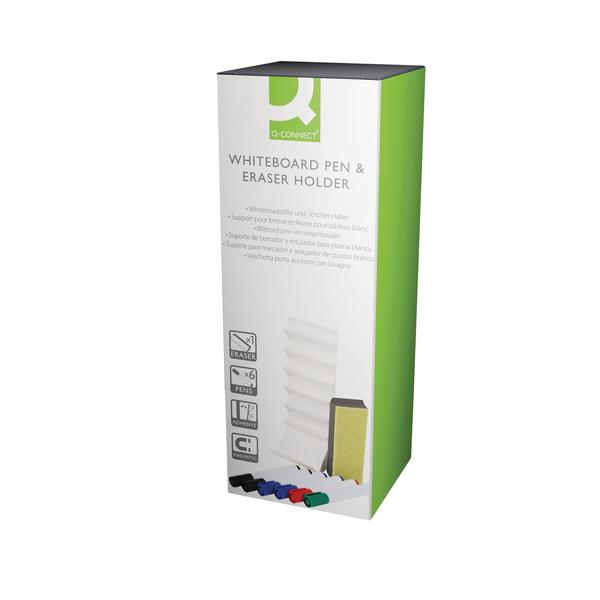 Q-Connect Whiteboard Pen and Eraser Holder AWPE001QCA