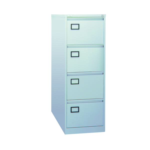 Jemini 4 Drawer Filing Cabinet Grey