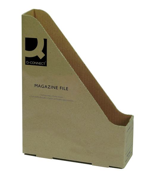 Q-Connect White Magazine File 246x73x329mm (20 Pack) KF21667
