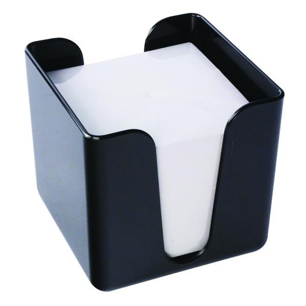 Q-Connect Black Memo Box KF21676