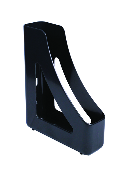 Q-Connect Black Executive Magazine Rack