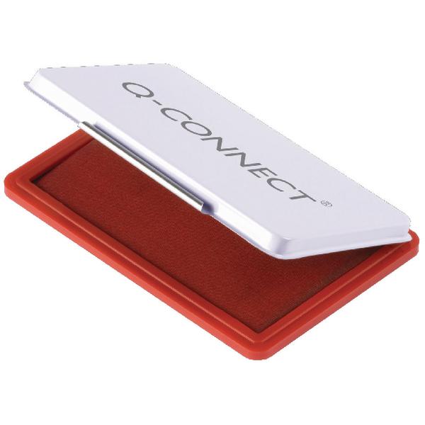 Q-Connect Medium Stamp Pad Red KF25212