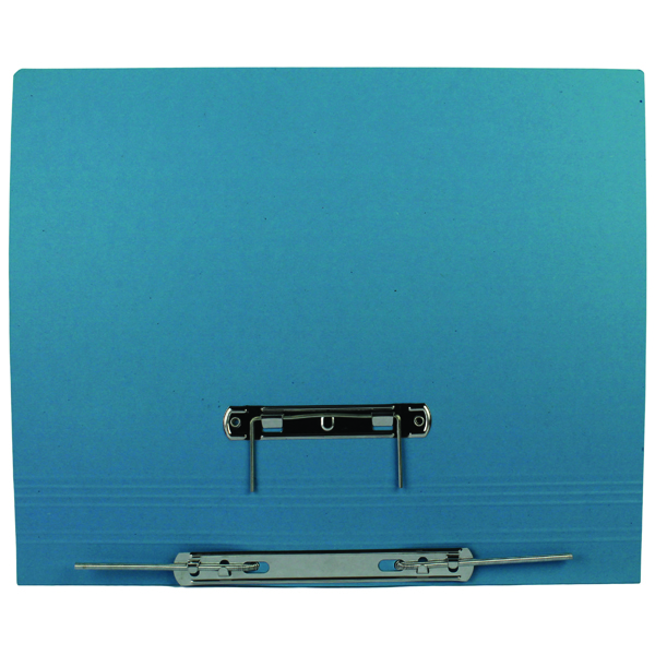 Q-Connect Transfer File Foolscap/A4 35mm Capacity Blue (25 Pack) KF26061