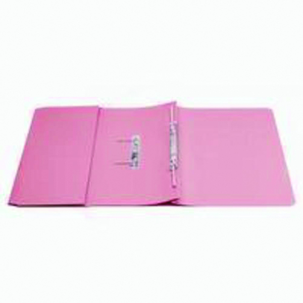 Q-Connect Transfer Pocket File Foolscap 35mm Capacity Pink (25 Pack) KF26098