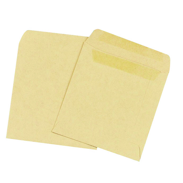 Image for Q-Connect Wage Envelope 108x102mm Plain 90gsm Manilla Self Seal (Pack of 1000)
