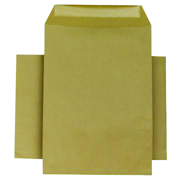 Q-Connect Manilla C4 Gummed Envelopes 80gsm (Pack of 250)