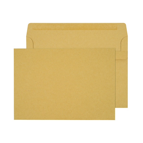Q-Connect C5 Envelopes 90gsm Self Seal Manilla (Pack of 500) X1074/01