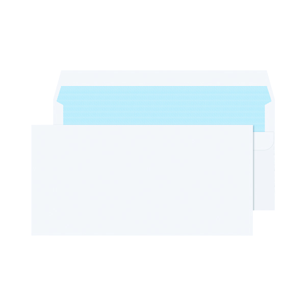 DL Envelopes 80gsm Self Seal White (Pack of 1000) KF3454