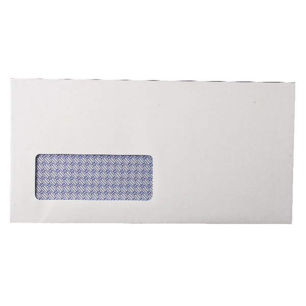 DL Window Envelopes 80gsm Self Seal White (Pack of 1000) KF3455