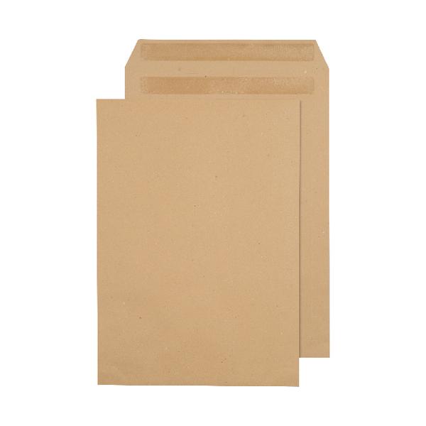 C4 Envelopes 80gsm Self Seal Manilla (Pack of 250) 3470