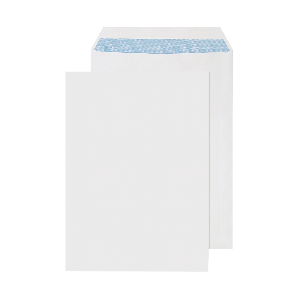 Q-Connect C4 Envelopes 90gsm Self Seal White (Pack of 250) 2906
