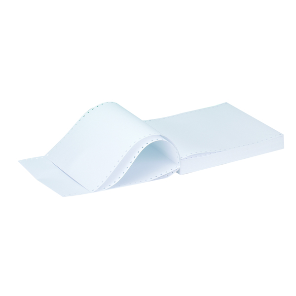 Q-Connect Listing Paper 11 x 9.5 Inches 1-Part 60gsm Plain (2000 Pack) C16PP