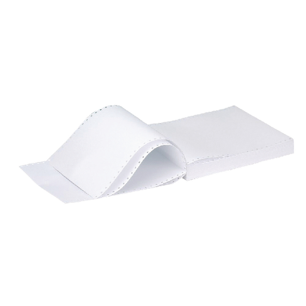 Q-Connect Listing Paper 11 inches x370mm 2-Part NCR Music Ruled Pack of 1000