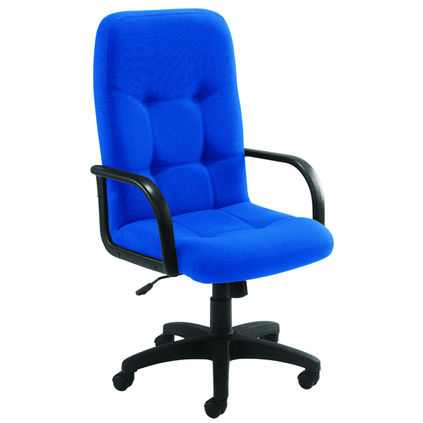 Arista High Back Manager Chair Royal Blue
