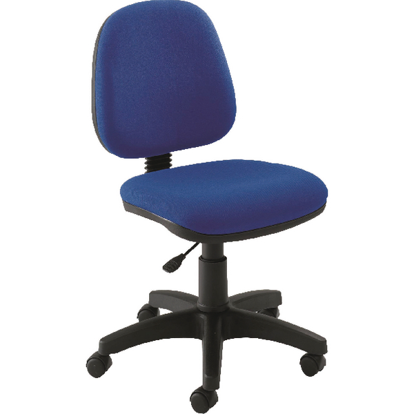 Jemini Medium Back Operator Blue Chair
