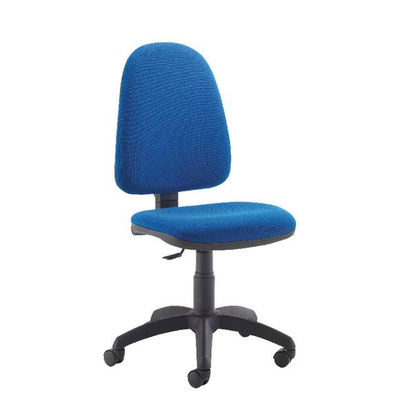 Jemini High Back Operator Blue Chair
