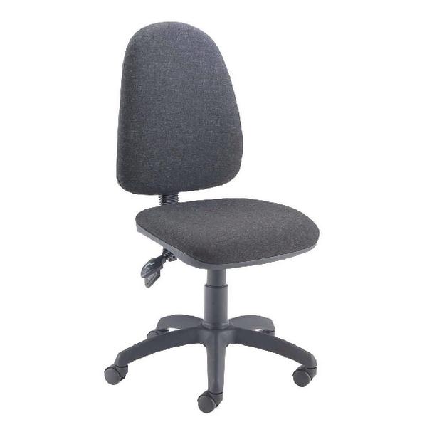 Jemini High Back Tilt Operator Charcoal Chair