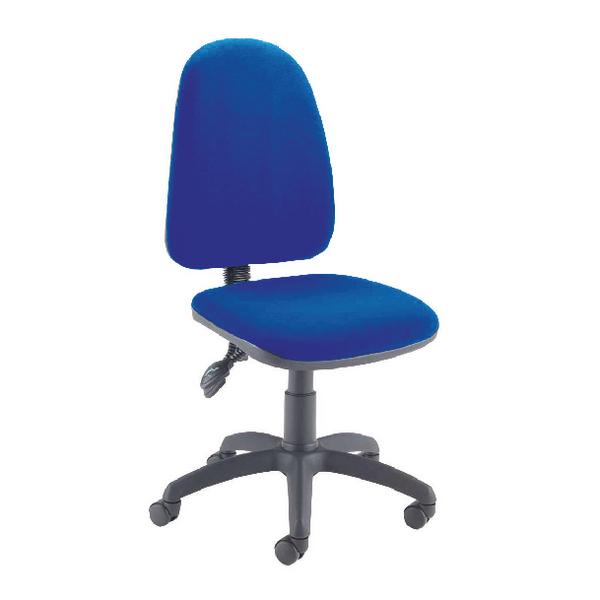 Jemini High Back Tilt Operator Blue Chair