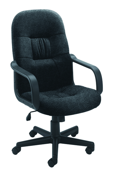 Jemini High Back Manager Charcoal Chair