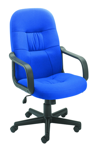 Jemini High Back Manager Blue Chair