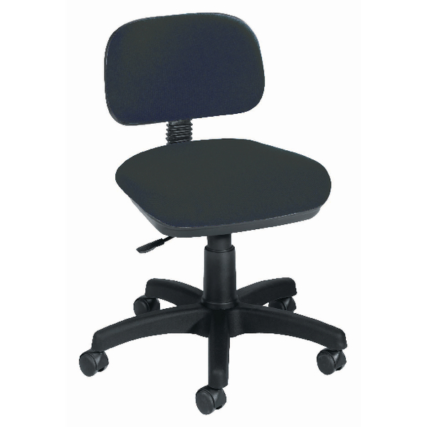 Jemini Typist Charcoal Chair