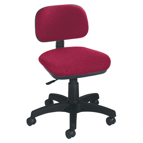 Jemini Typist Chair Claret