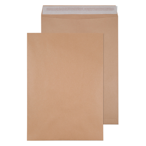 Q-Connect 458x324mm 135gsm Self Seal Manilla Envelope (Pack of 125) 9011004
