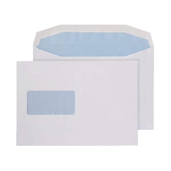 C5 Window Envelopes 100gsm Self Seal White () 9007500