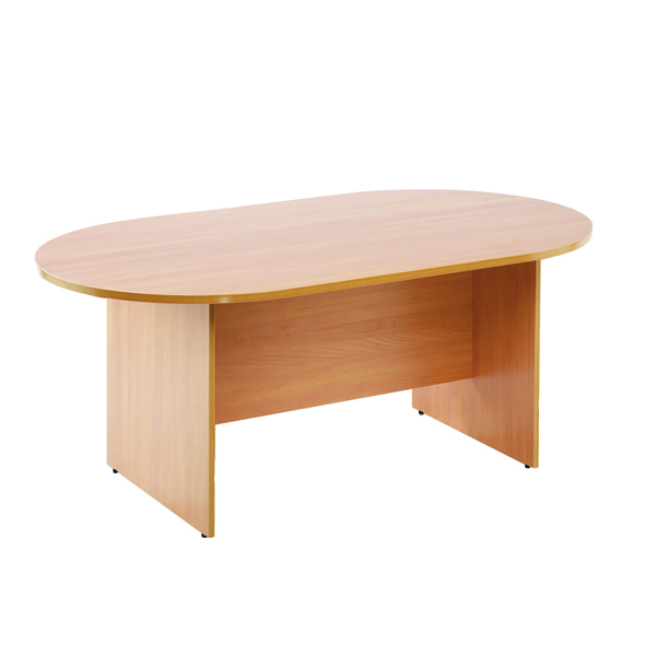 Arista 1800mm Rectangular Meeting Table Maple KF72041