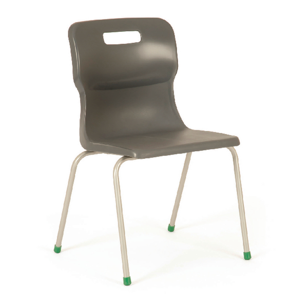 Titan Charcoal Size 3 School Chair With 4 Legs