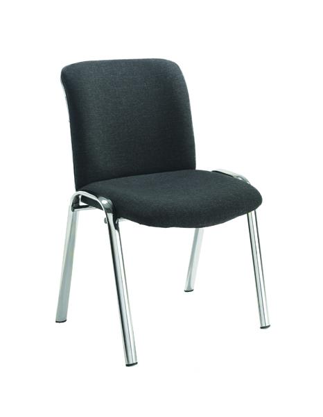 FF Avior Conf Hb Chrome Chair Charc
