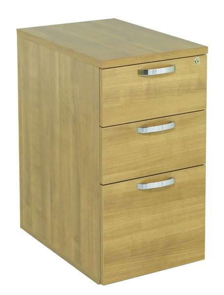 Image for Avior Ash 600mm Desk High Pedestal