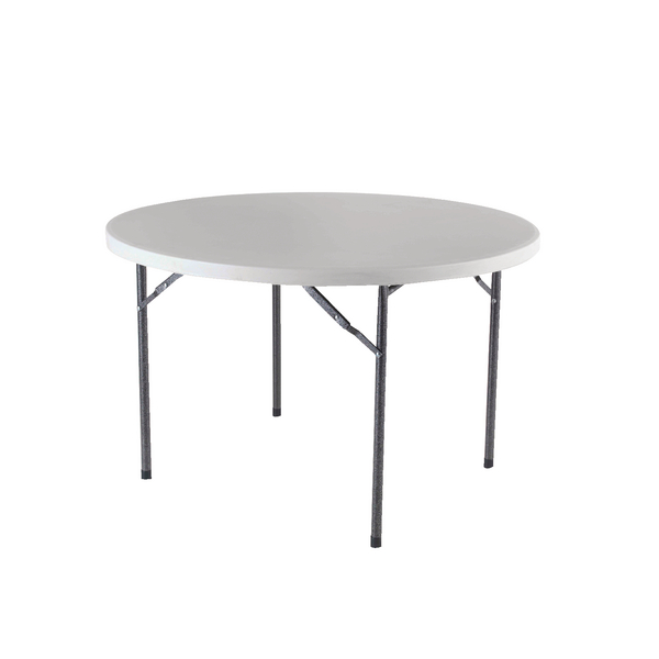 Jemini 1200mm Folding Round Table White