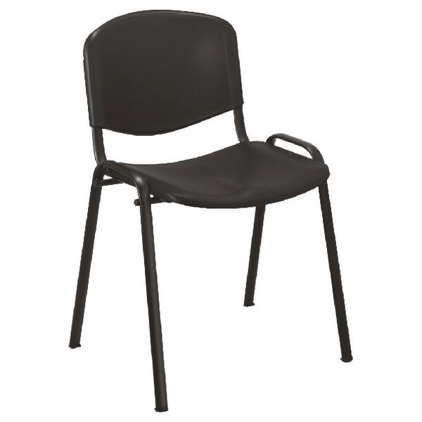 Jemini Multipurpose Polypropylene Stacking Chair Charcoal