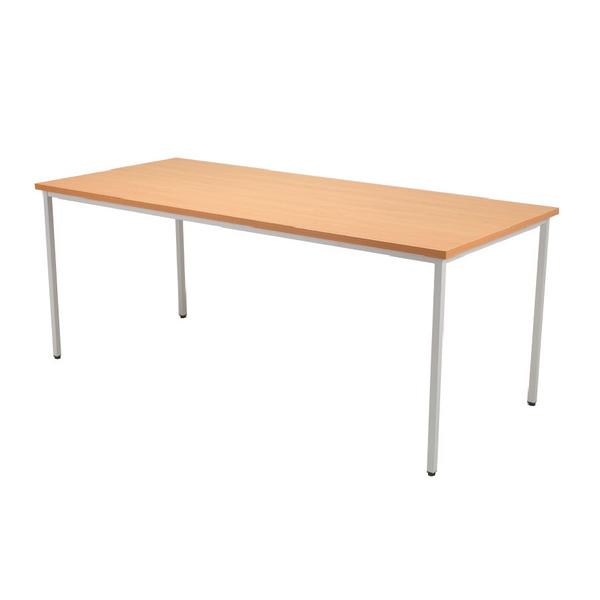 Image for Jemini 1200x800mm Beech Rectangular Table