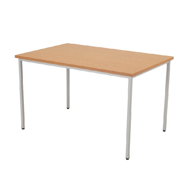 FF Jemini Rectang Table 1200X800mm Oak