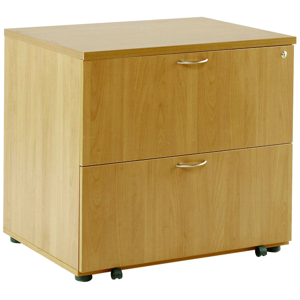 FF Arista Desk High Side Filer Oak