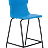 FF DD Titan Poly High Chair 445mm Blue