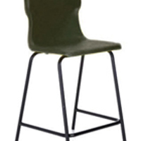 FF DD Titan Poly High Chair 445mm Char