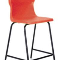 FF DD Titan Poly High Chair 560mm Red