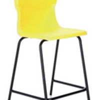 FF DD Titan Poly High Chair 560mm Yell