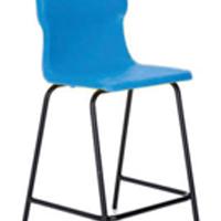 FF DD Titan Poly High Chair 610mm Blue