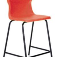FF DD Titan Poly High Chair 685mm Red