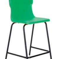 FF DD Titan Poly High Chair 685mm Green